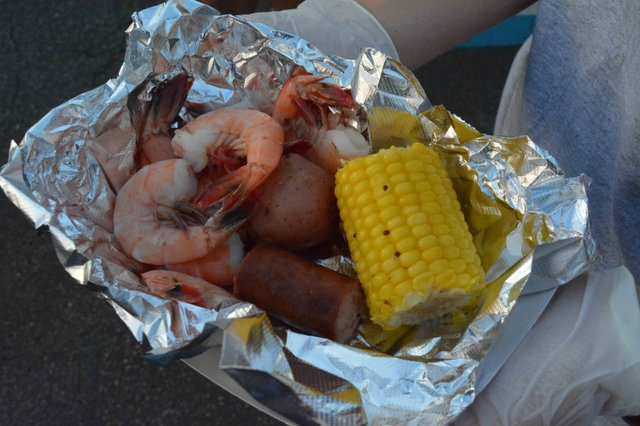 A low country boil