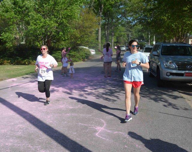 5K finish line