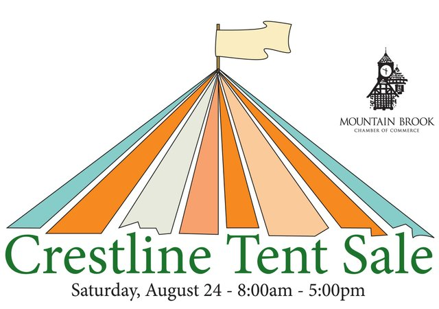 0813 Crestline Tent Sale