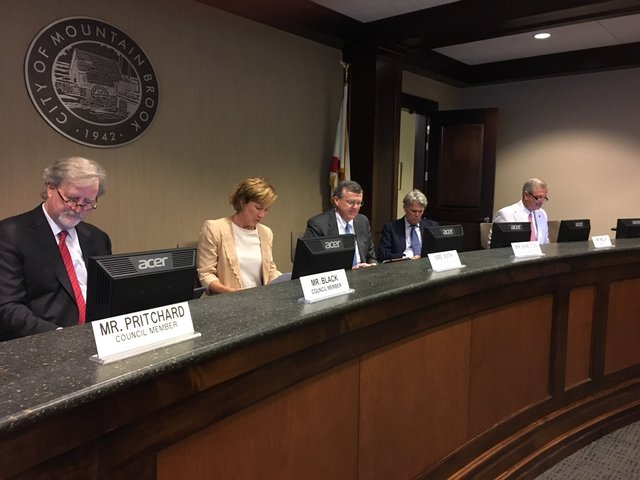Mountain Brook City Council 8-13-18