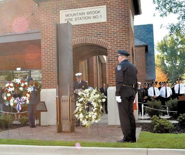 Patriot Day Ceremony Memorial dedication