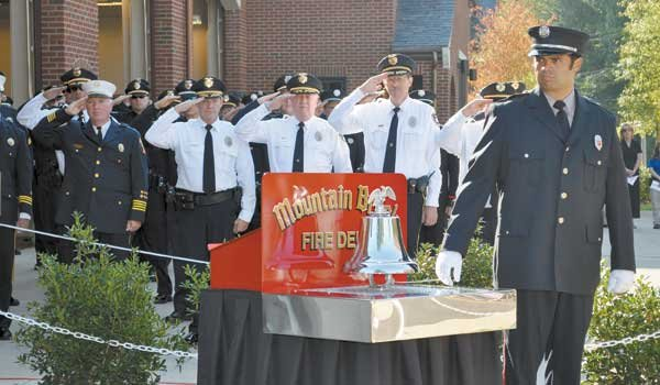 Patriot Day Ceremony Memorial bell