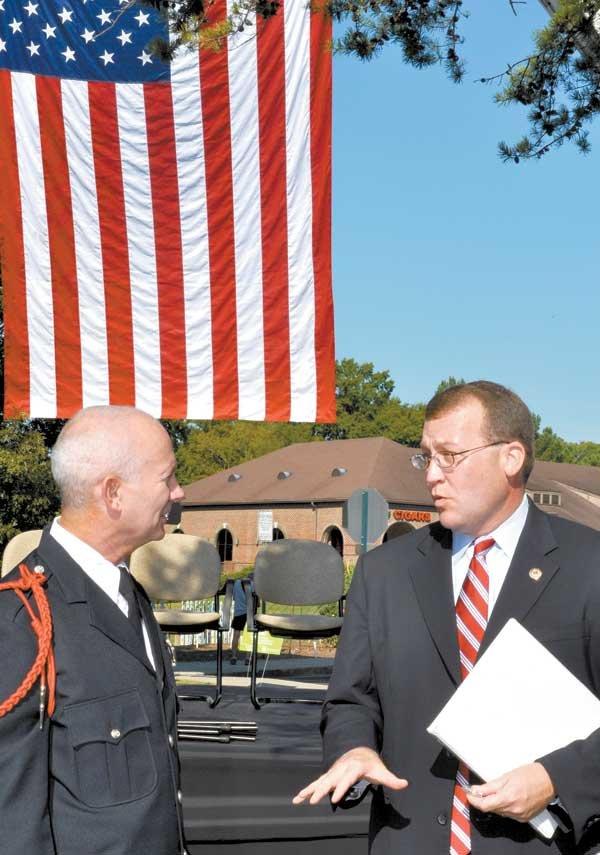 Patriot Day Ceremony speaker Allan Rice