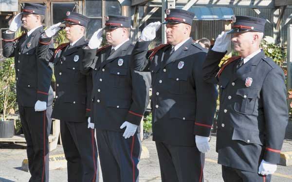 Patriot Day Ceremony Vestavia firefighters