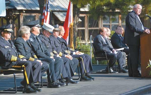 Patriot Day Ceremony Mayor Zaragoza