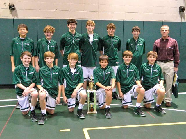 0214 Seventh grade basketball