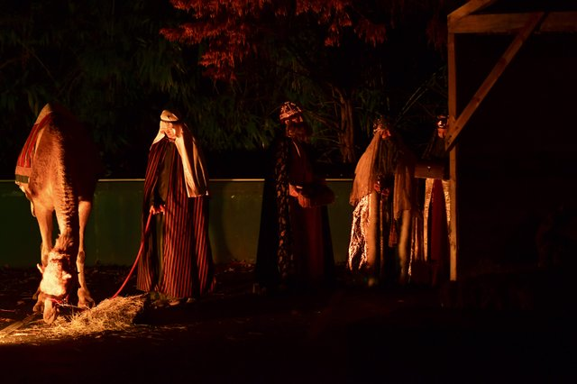 Mtn Brk Baptist Living Nativity