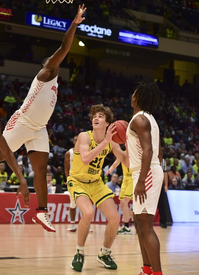 Lee-Montgomery vs Mtn Brk boys Class 7A Championship