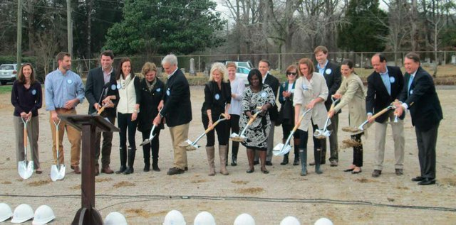 Preschool Partners Ground Breaking
