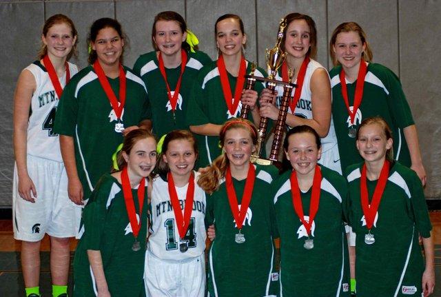 MBJH girls basketball team 2014