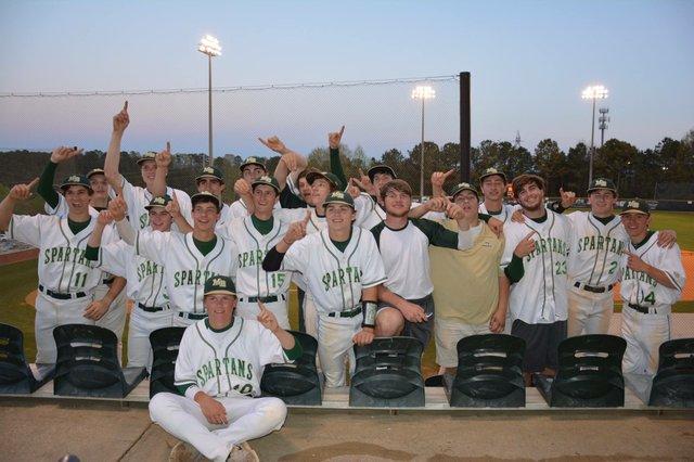 MBHS Baseball Area Champs 2014