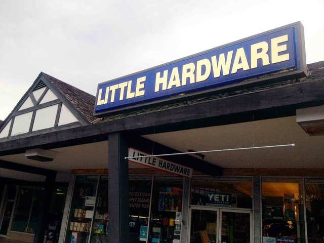 Little Hardware Exterior