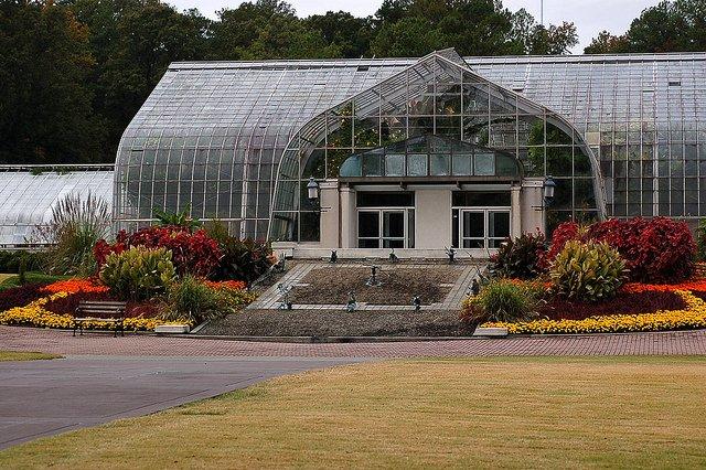 Birmingham Botanical Gardens Formal Garden
