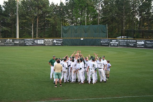 MBHS Baseball 2014 Playoff Victory