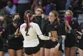 State Volleyball - Hartselle vs MBHS