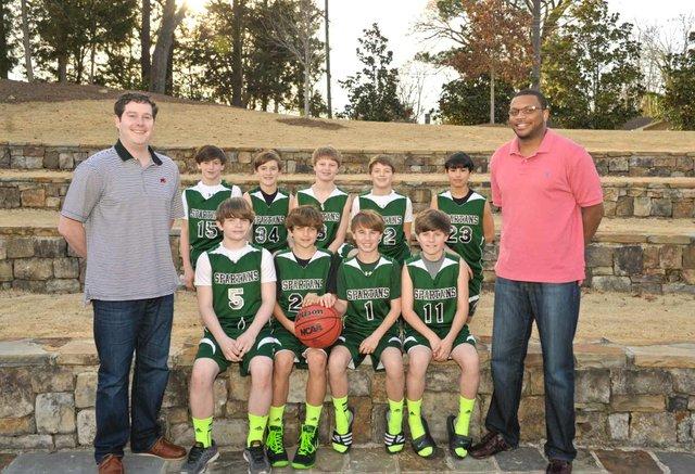 Sixth Grade OTM Basketball 2014