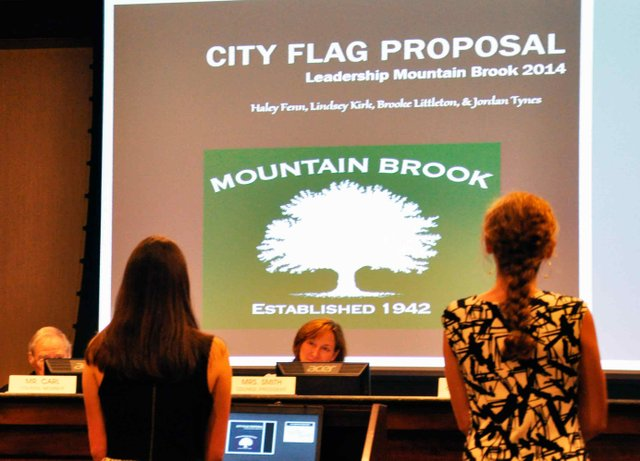 Leadership Mountain Brook City Flag