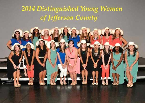 Distinguished Young Women 2014