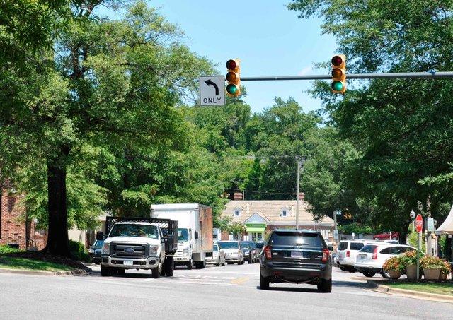 Mountain Brook Village Traffic
