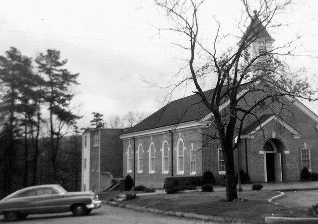 Mountain Brook Baptist Chapel 1952