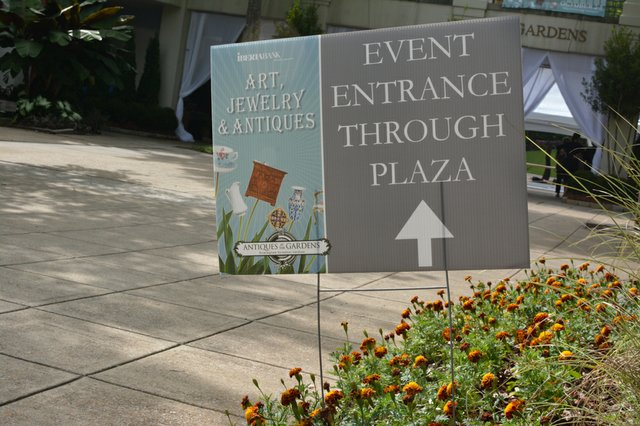 Antiques at the Gardens 2014