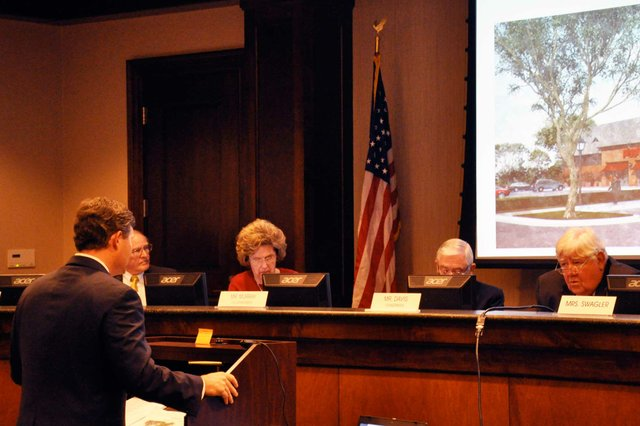 Planning Commission Piggly Wiggly Vote
