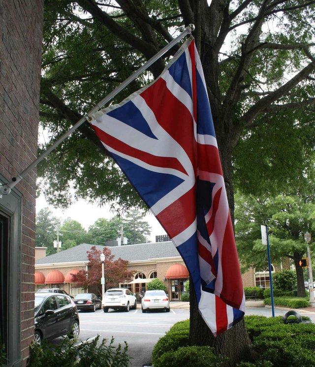 0412 British Flag Prince Edward