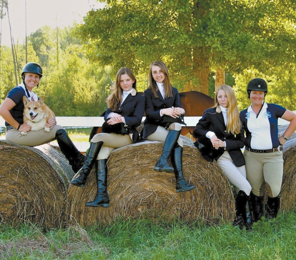 Local Girls Compete At Equestrian Nationals