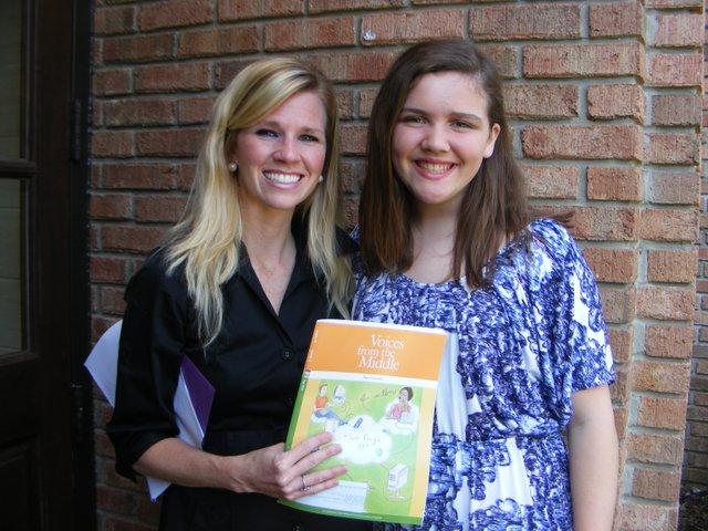 Highlands student wins publication
