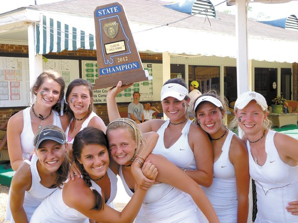 0612 State Champs Girls Tennis