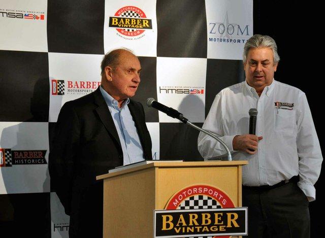 Barber Historics Press Conference