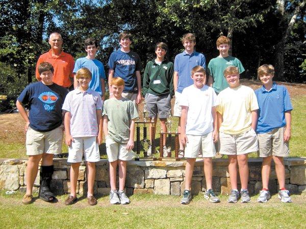 0612 MBJH Golf Team wins