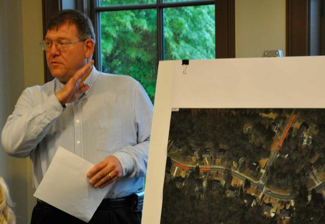 Overton Road-South Brookwood Road Traffic Discussion