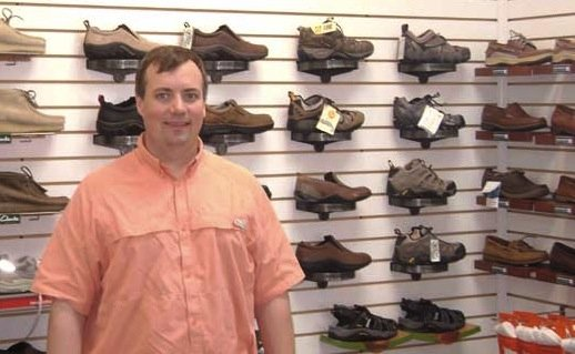 Pants store owner