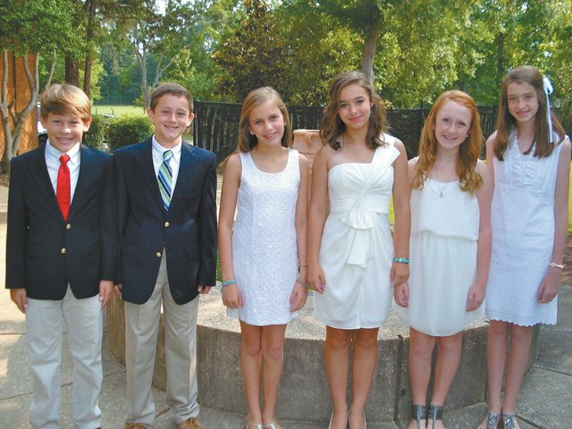 BWF celebrates sixth grade graduation