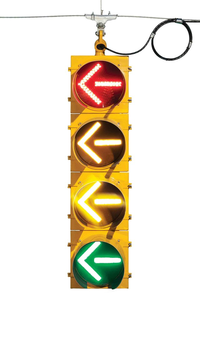 Four-arrow signal