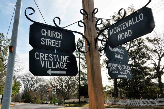 Church Street-Montevallo Road Intersection