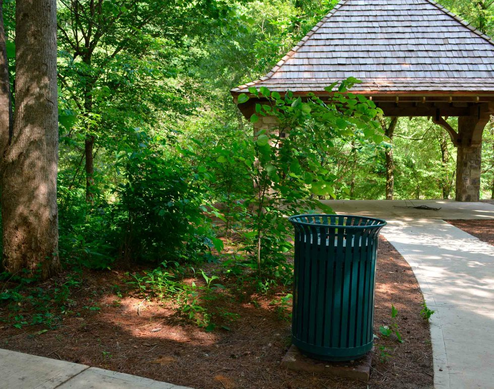 New Trash Cans To Replace 33 Wooden Receptacles