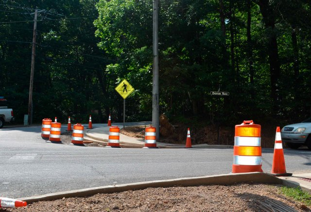 Cahaba River Walk Pedestrian Crossing Construction