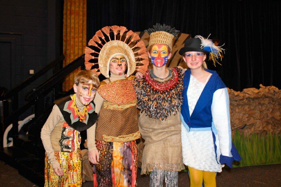 Crestline sixth-graders perform 'The Lion King, Jr ... Lion King Broadway Zazu