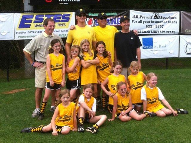 MB 8U Pirates won the league championship tournament 2012