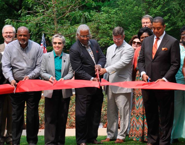 Cahaba Road Roundabout Ribbon Cutting