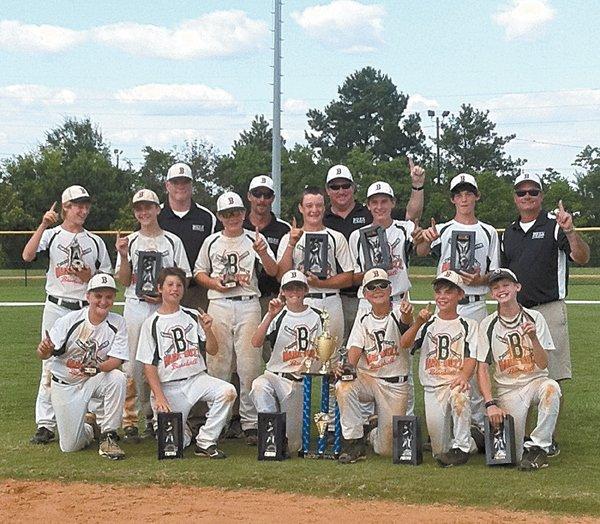 Bama Buzz wins 12U championship