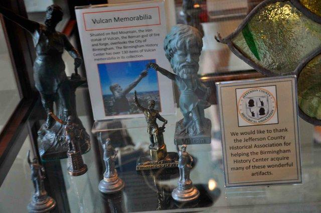 Vulcan Memorabilia History Exhibit City Hall