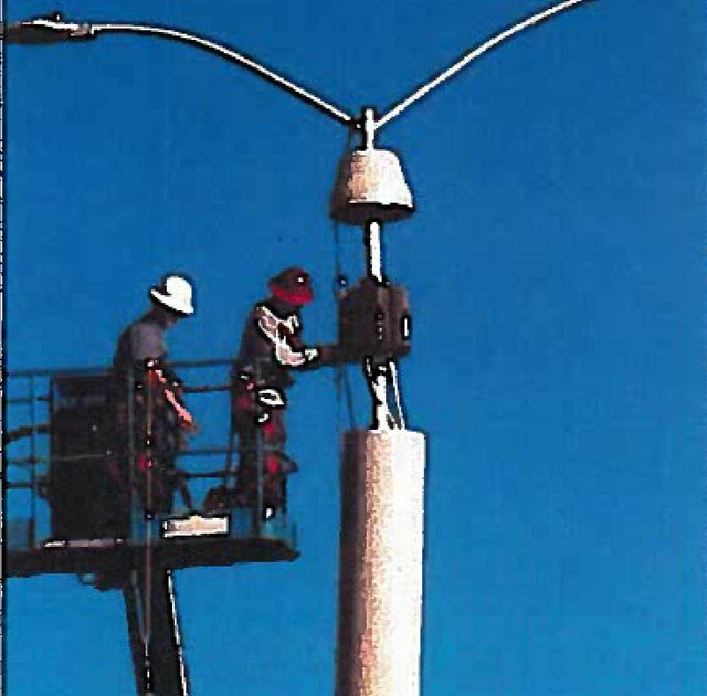 Mini Cell Site Pole Example