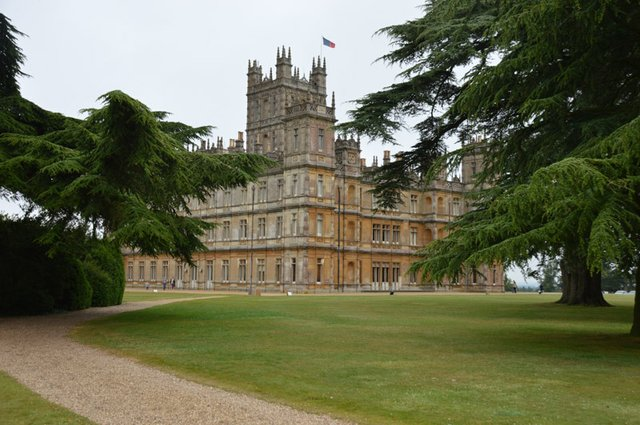 Downton Highclere Grounds