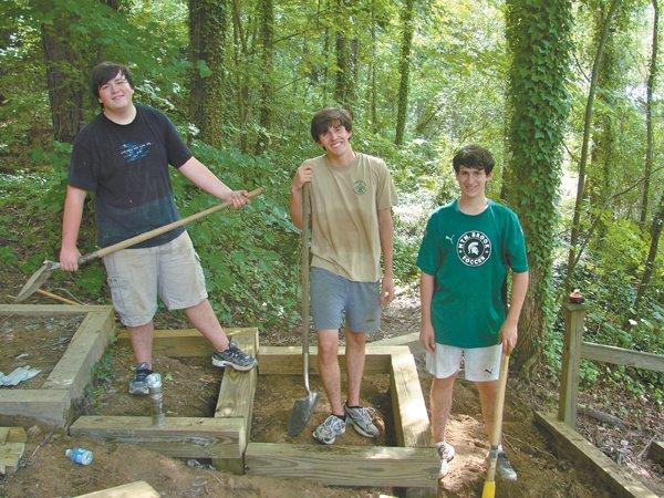 Eagle Scout project enhances Outdoor Chapel