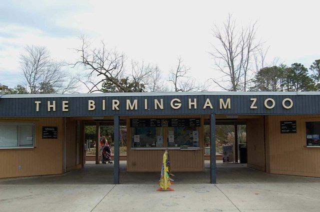 Birmingham Zoo Entrance