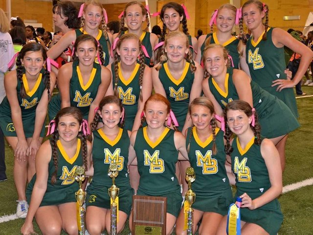 0812 Freshman Cheerleaders