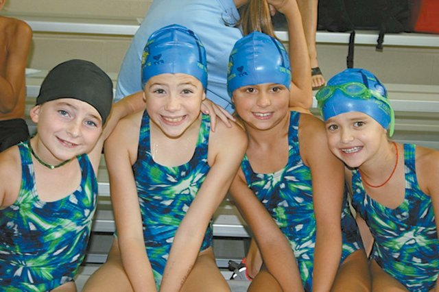 0912 swimming relay team